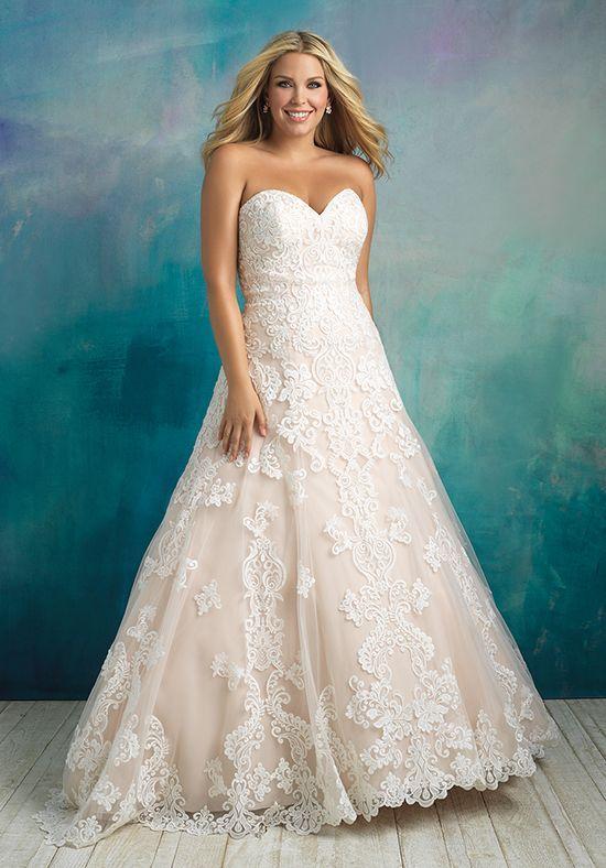 Allure Bridals W413 Ball Gown Wedding Dress | Noivas deslumbrantes ...