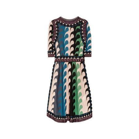 M Missoni Intarsia knitted dress