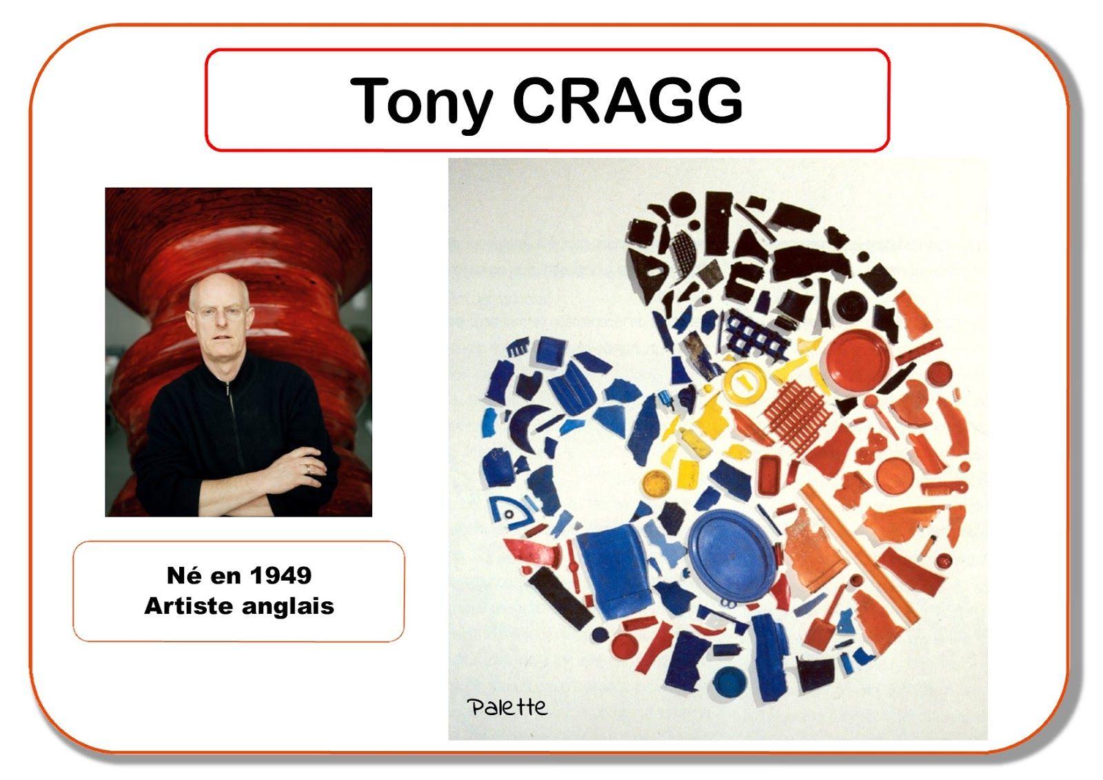 Tony Cragg Portrait d artiste en maternelle