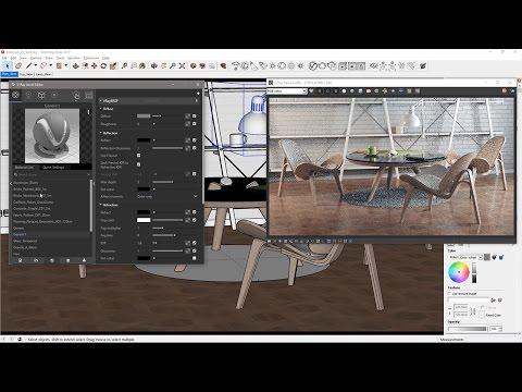 Materials Quickstart V Ray 3 6 For Sketchup Chaos Group Help