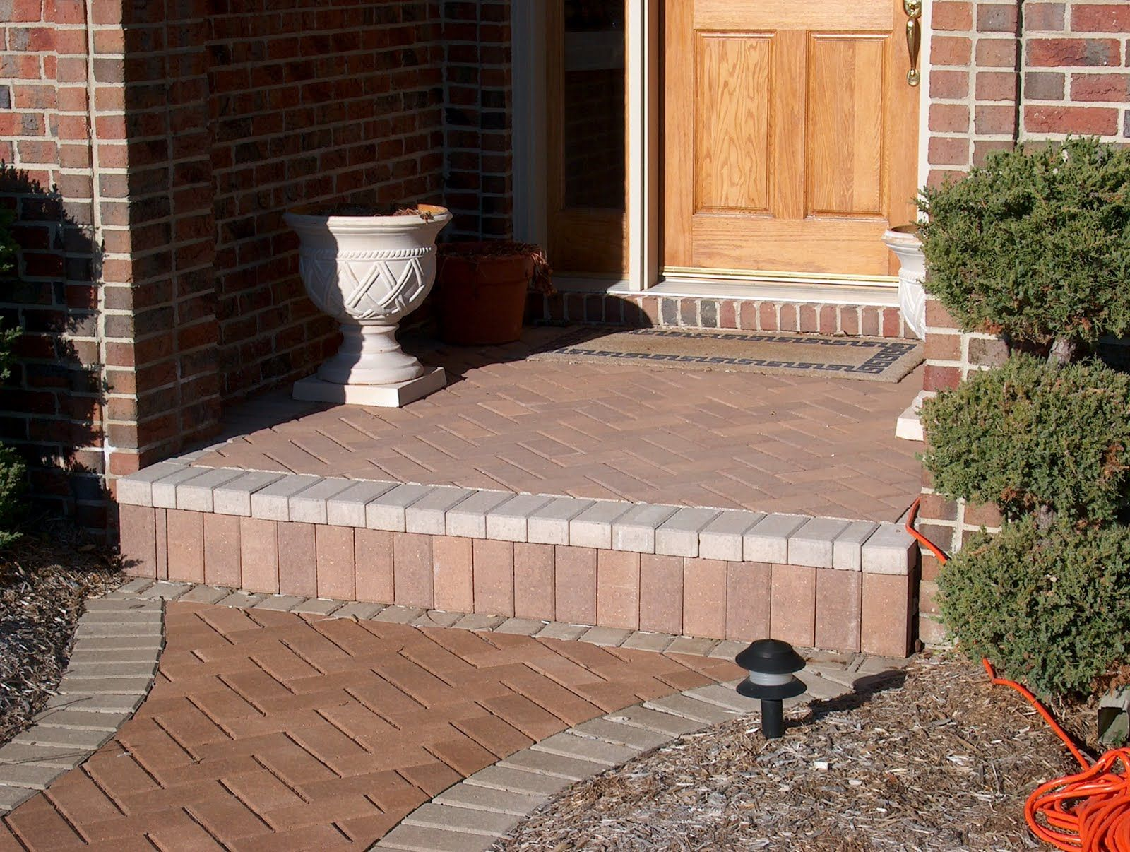 Best Brick Paver Porch And Steps Total Porch Replacement 400 x 300