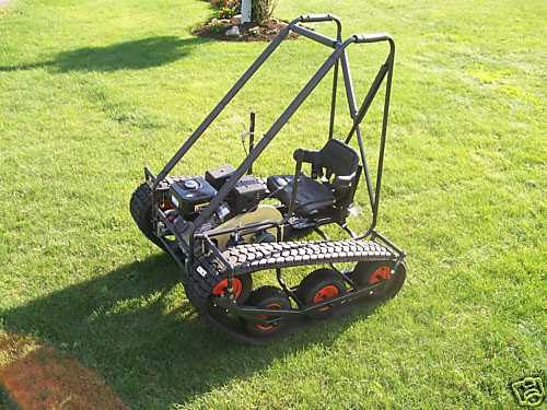 Personal Tracked Vehicle Go-Kart Build Plans | For Rich | Pinterest