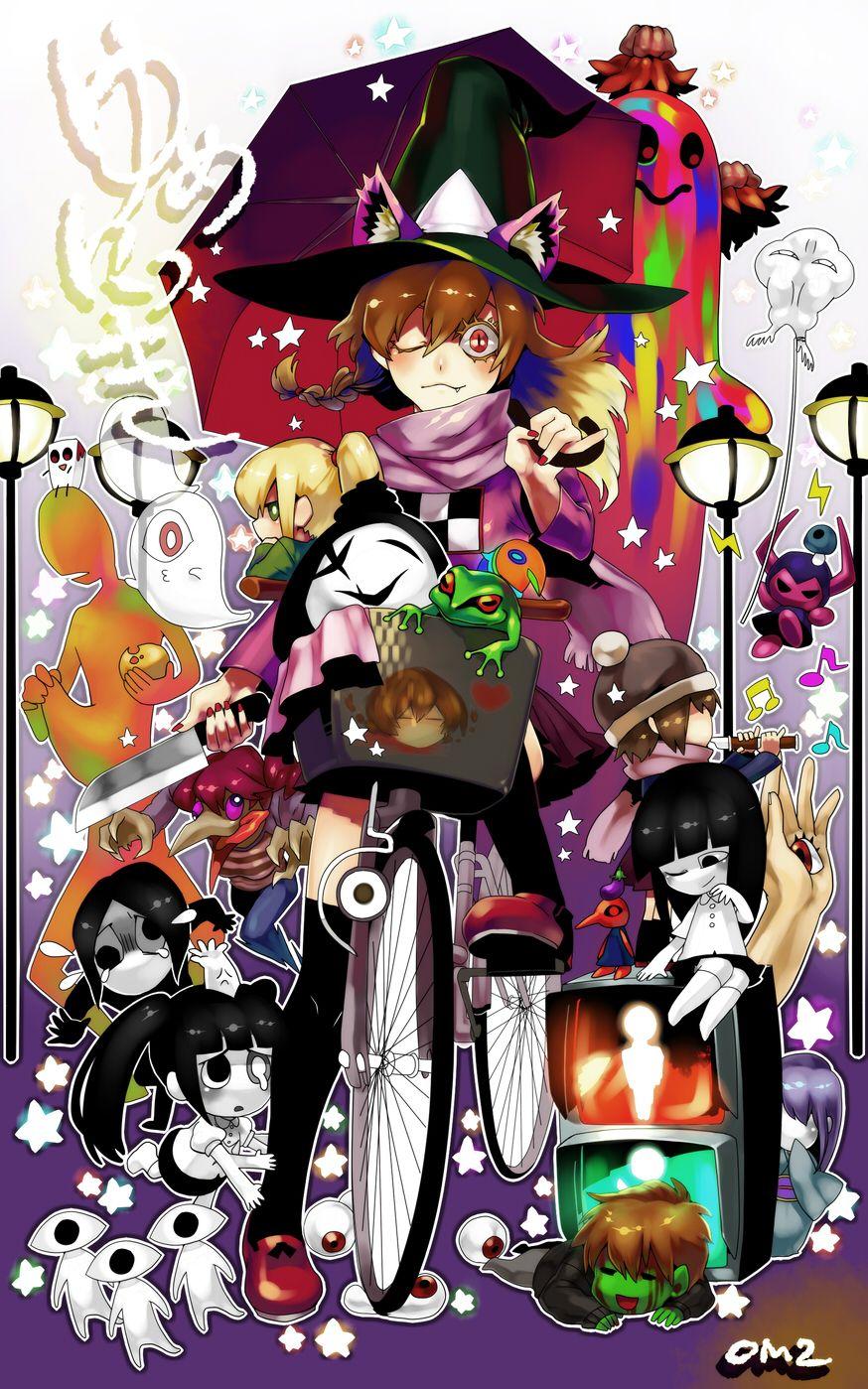 Yume Nikki 648855 Zerochan Anime Rpg Horror Games Horror Game