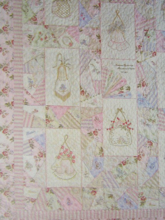 Night Before Christmas Embroidery Quilt from Girls in the Garden ... : hand embroidery patterns for quilts - Adamdwight.com