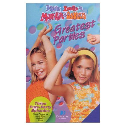 Mary Kate Ashley S Greatest Parties Amazon Com You Re Invited