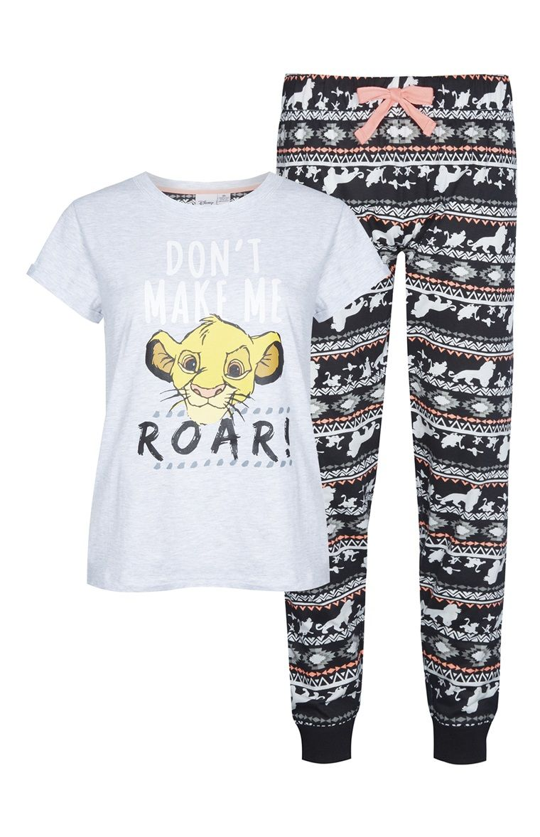 94f69b1b1 Primark - Pijama Disney Lion King