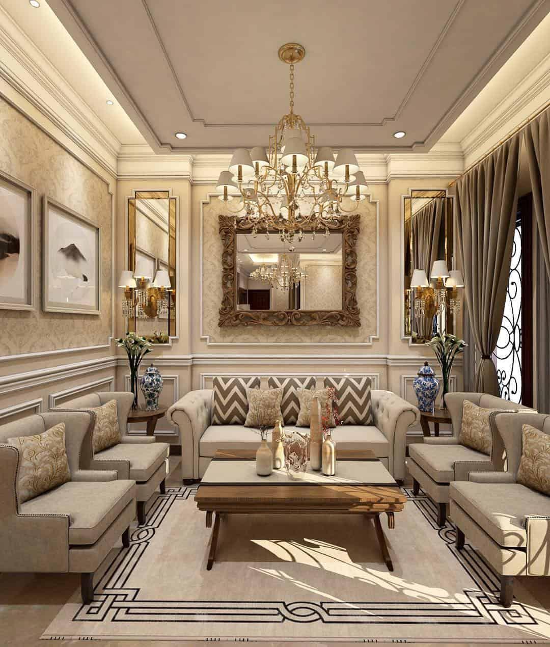 Interior Design Trends 2021 15 Tips For Ultra Harmonic Decor Room Color Design Interior Design Classic Luxury Living Room Living room trends 2021