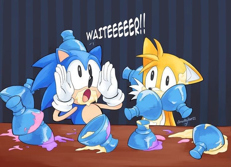 Pin By Celestia Marie On Sonic In 2020 Sonic Funny Sonic Classic Sonic