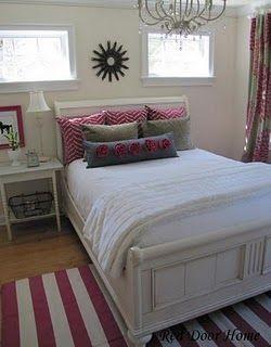 Red Door Home: Final Bedroom Reveal | Girls bedroom, Big ...