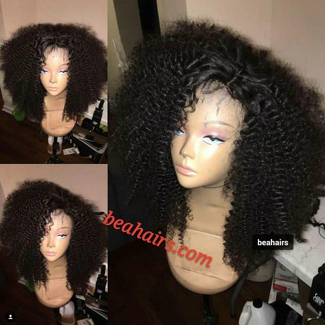 Kinky curl wig like Check our websitebeahairscom lacewig