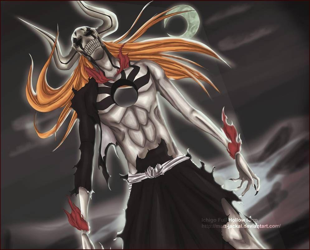 Ichigo Full Hollow Form By Matt Jackal