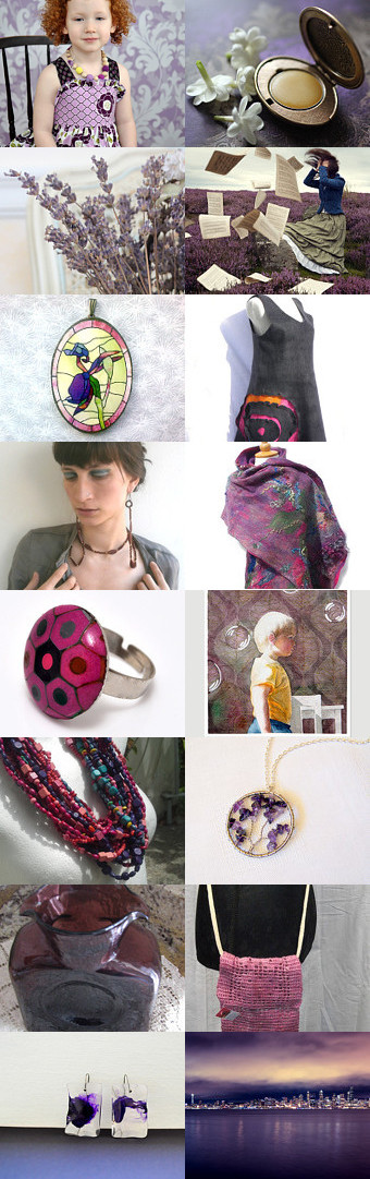 Lavender or... by Agnieszka on Etsy--Pinned with TreasuryPin.com