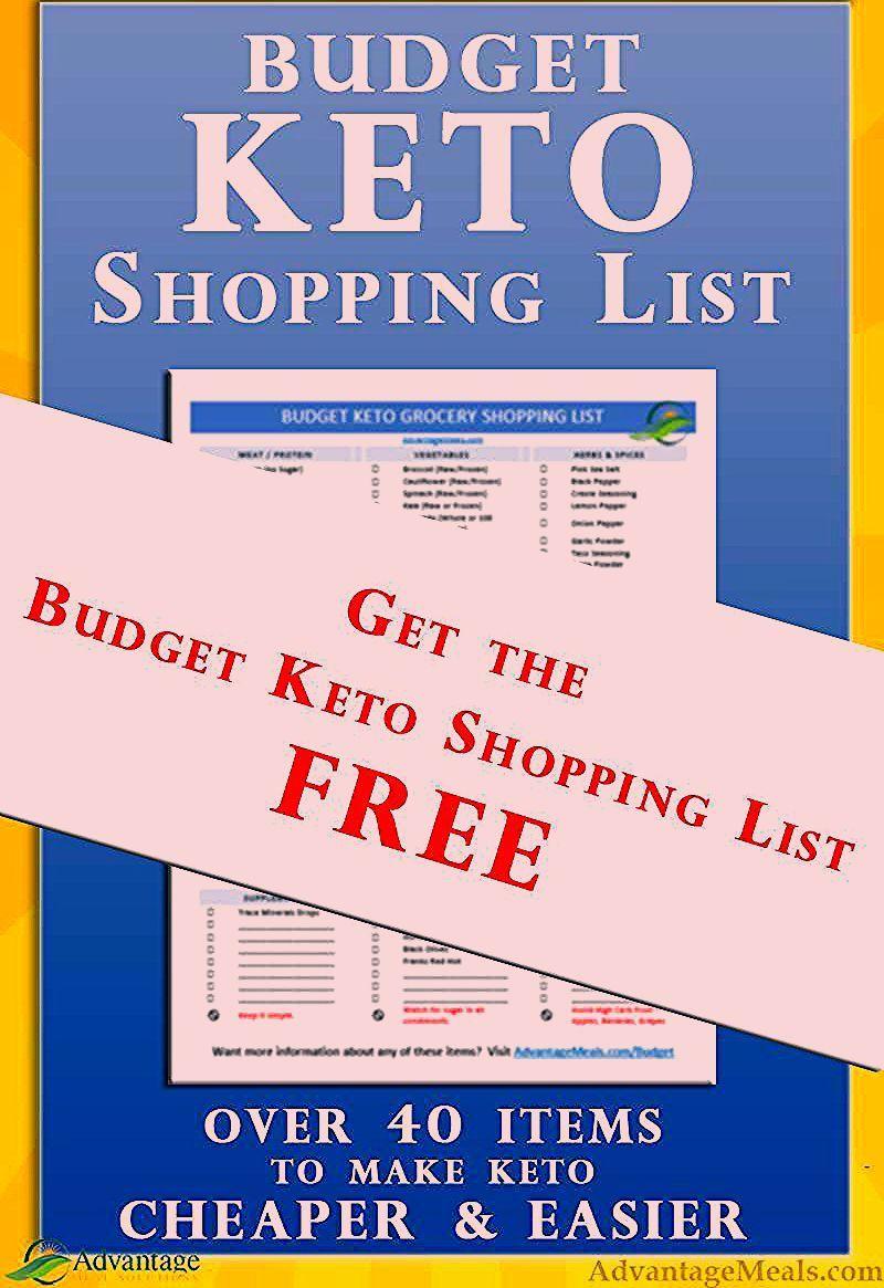 Photo of Diese Budget Keto Einkaufsliste ist ein normaler Premium-Download, aber für ein paar Minuten …