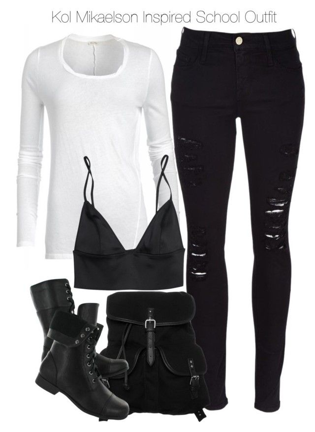 """""""Kol Mikaelson Inspired School Outfit"""" by staystronng ❤ liked on Polyvore"""