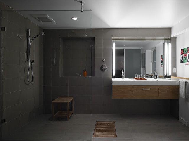 Open Plan Bathroom Modern Bathroom San Francisco At Six Architecture Open Plan Bathrooms Bathroom Design Modern Bathroom