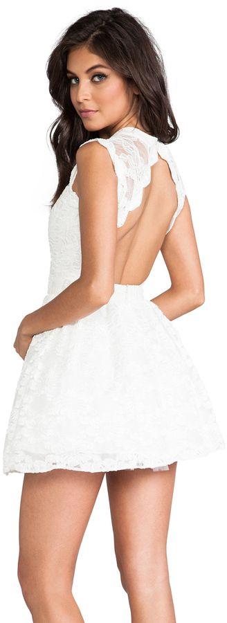 Alexis Vendela Mini Lace Dress on shopstyle.co.uk