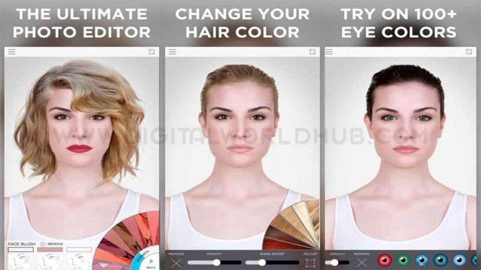 Best 5 Beauty Apps For Android Beauty App Celebrity Hair Stylist Beauty Makeover