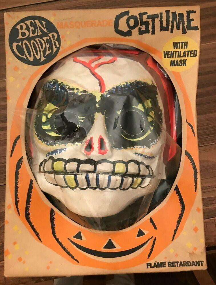 Vintage Halloweeen Costume Ben Cooper Spook Town 1214