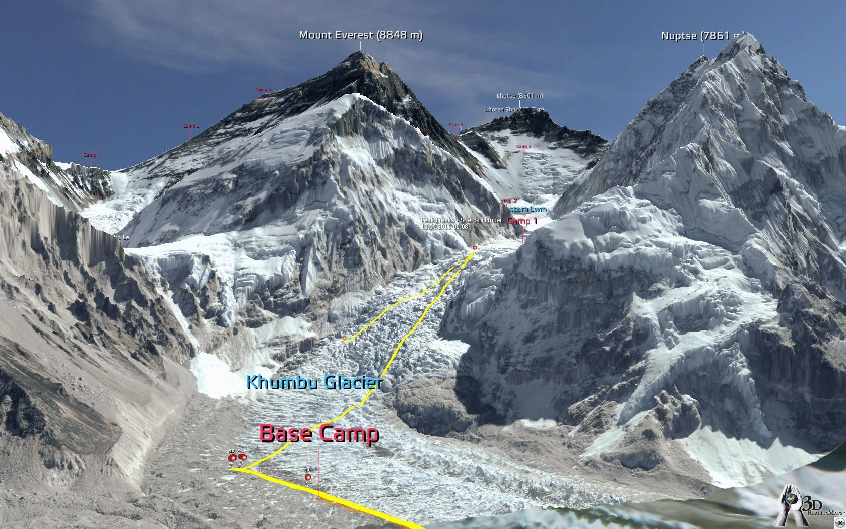 highway to everest mount - photo #40