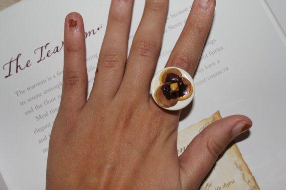 $5.50 Pancakes on Ring  http://www.etsy.com/listing/99023378/pancakes-ring