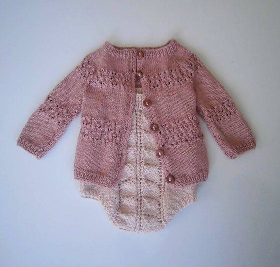 8f63d7766e33 Baby Bamboo Cardigan and Romper