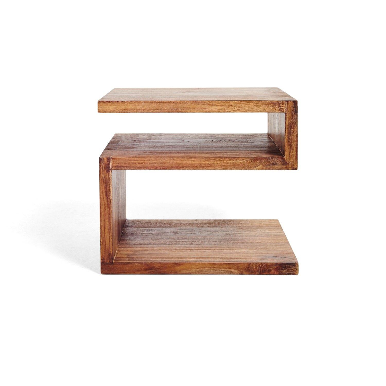 form teak side table potential diy  the art of making furniture  - form teak side table potential diy
