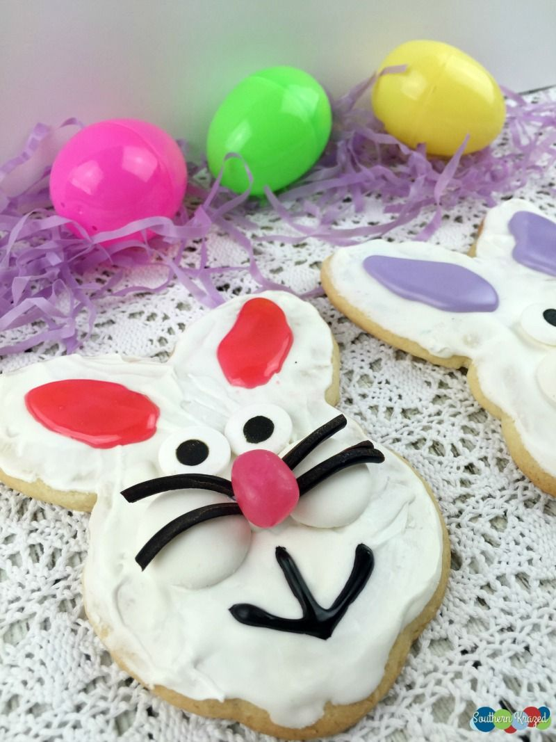 Adorable bunny sugar cookies for easter easter cakes and baking adorable bunny sugar cookies for easter easter cakes and baking inspiration kids craft edible negle Images