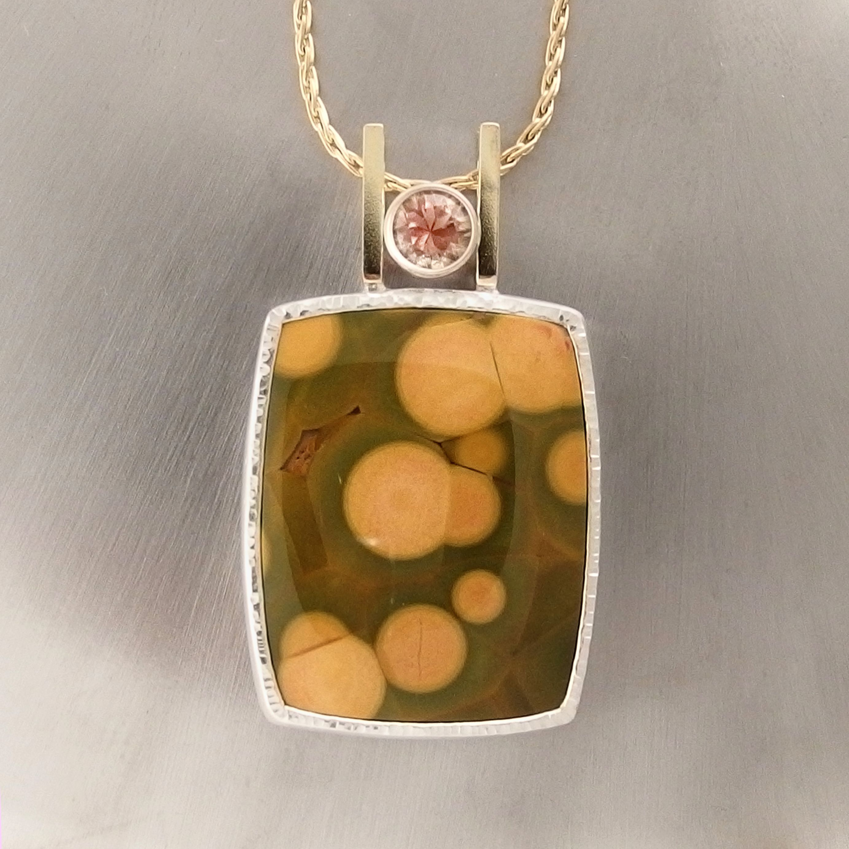 necklace sunstone pendant hendrix with and k s aventurine wouters products