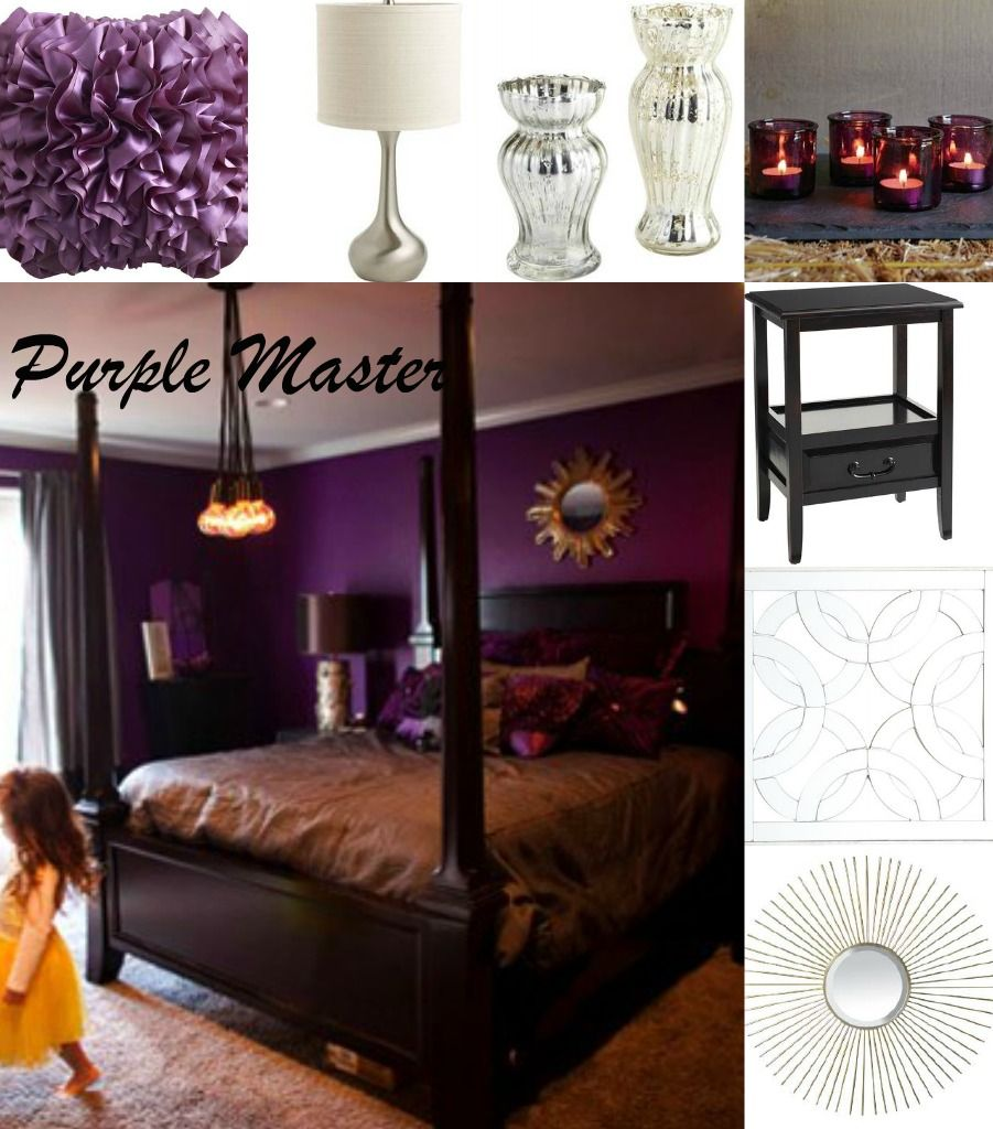Decorating Ideas Color Inspiration: Masterbedroom Inspiration With Purple Colors
