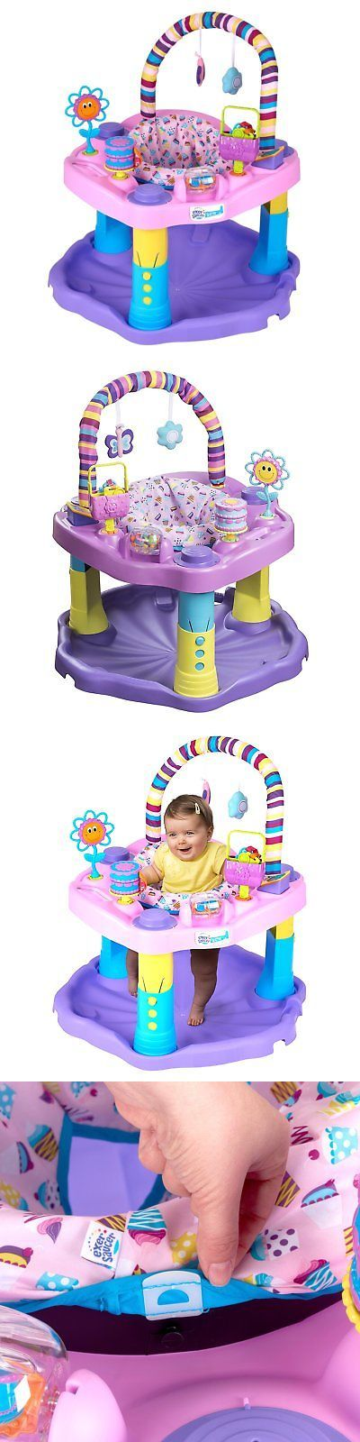 8a8b73468 Exersaucer Baby Bouncer Jumper Learning Activity Center Girl Child ...