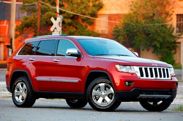 2012 Jeep Grand Cherokee Suv In Red Thinking About Getting This