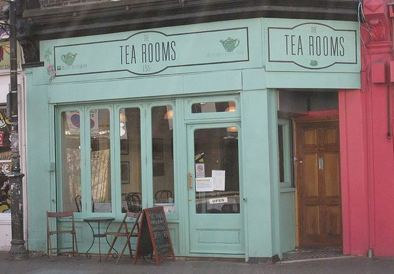 The Tea Rooms in Stoke, Newington