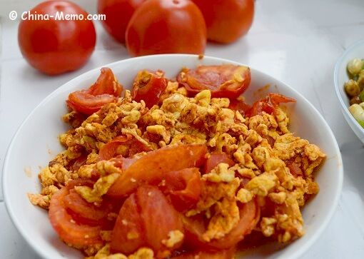 Chinese egg fried tomatoes china memo breakfast brunch a simple chinese home cooking recipe egg fried tomatoes the tender and fluffy eggs are mixed with the succulent tomatoes plus the flavour of garlic and forumfinder Choice Image