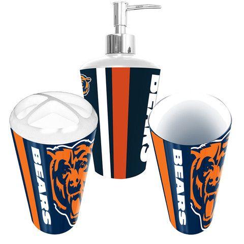 Chicago Bears Nfl Bath Tumbler