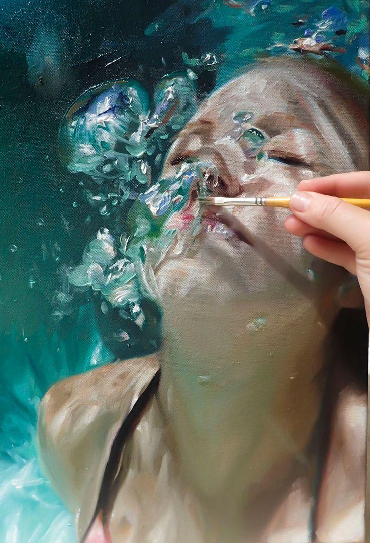 Realistic Underwater Paintings