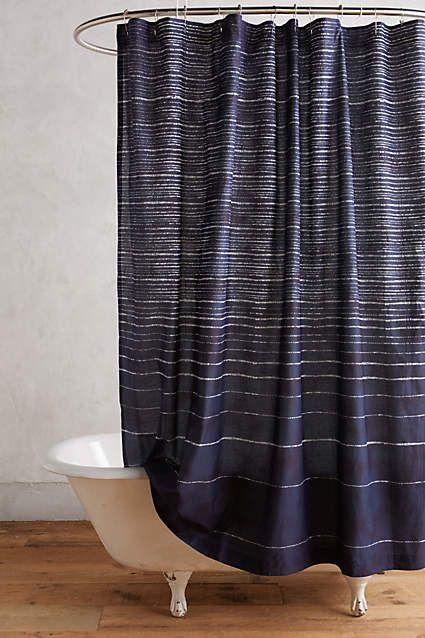 Haro Stripe Shower Curtain Anthropologie Com Striped Shower