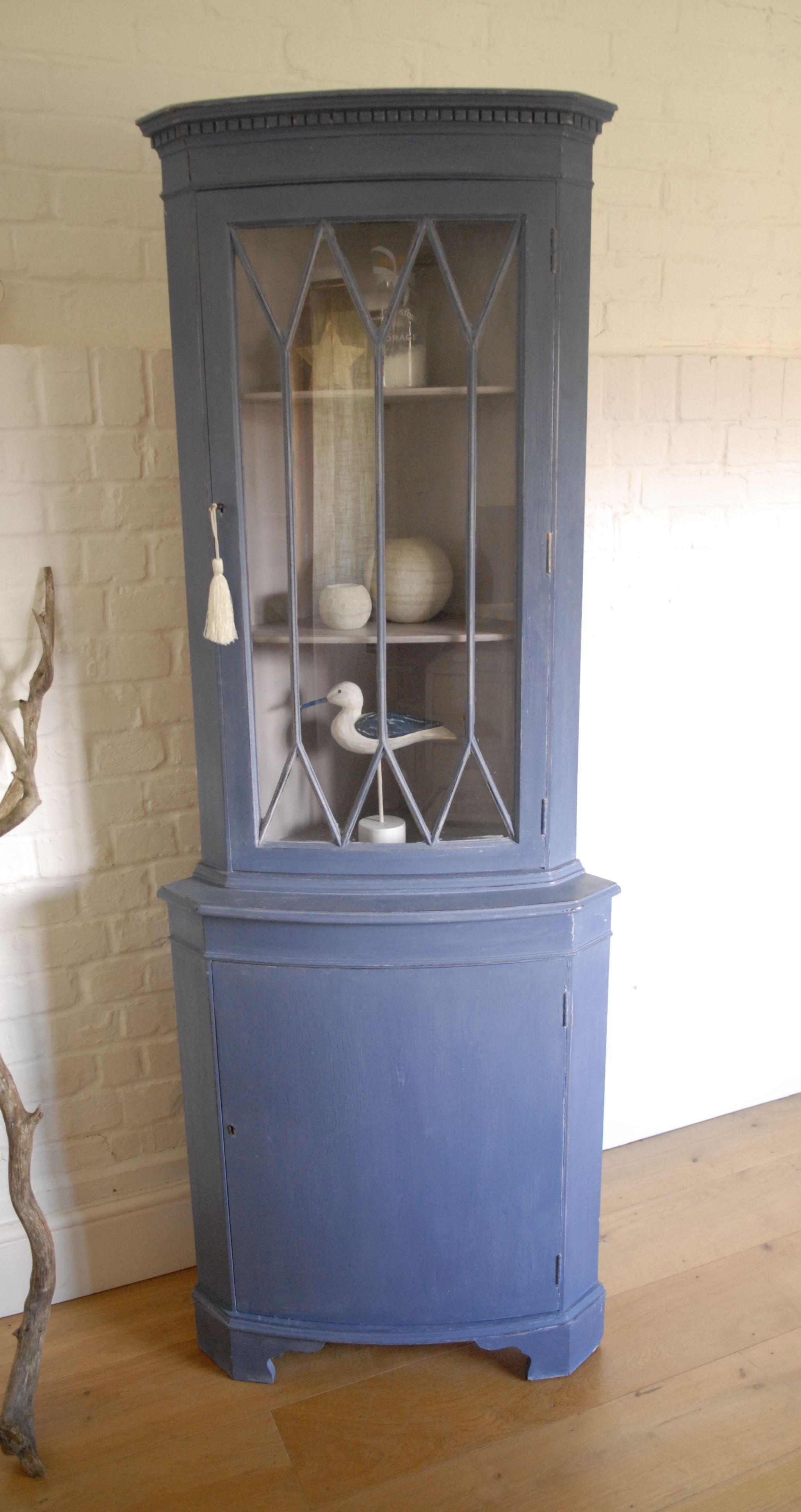 curators collection chippy antique cupboard hutch the vintage corner