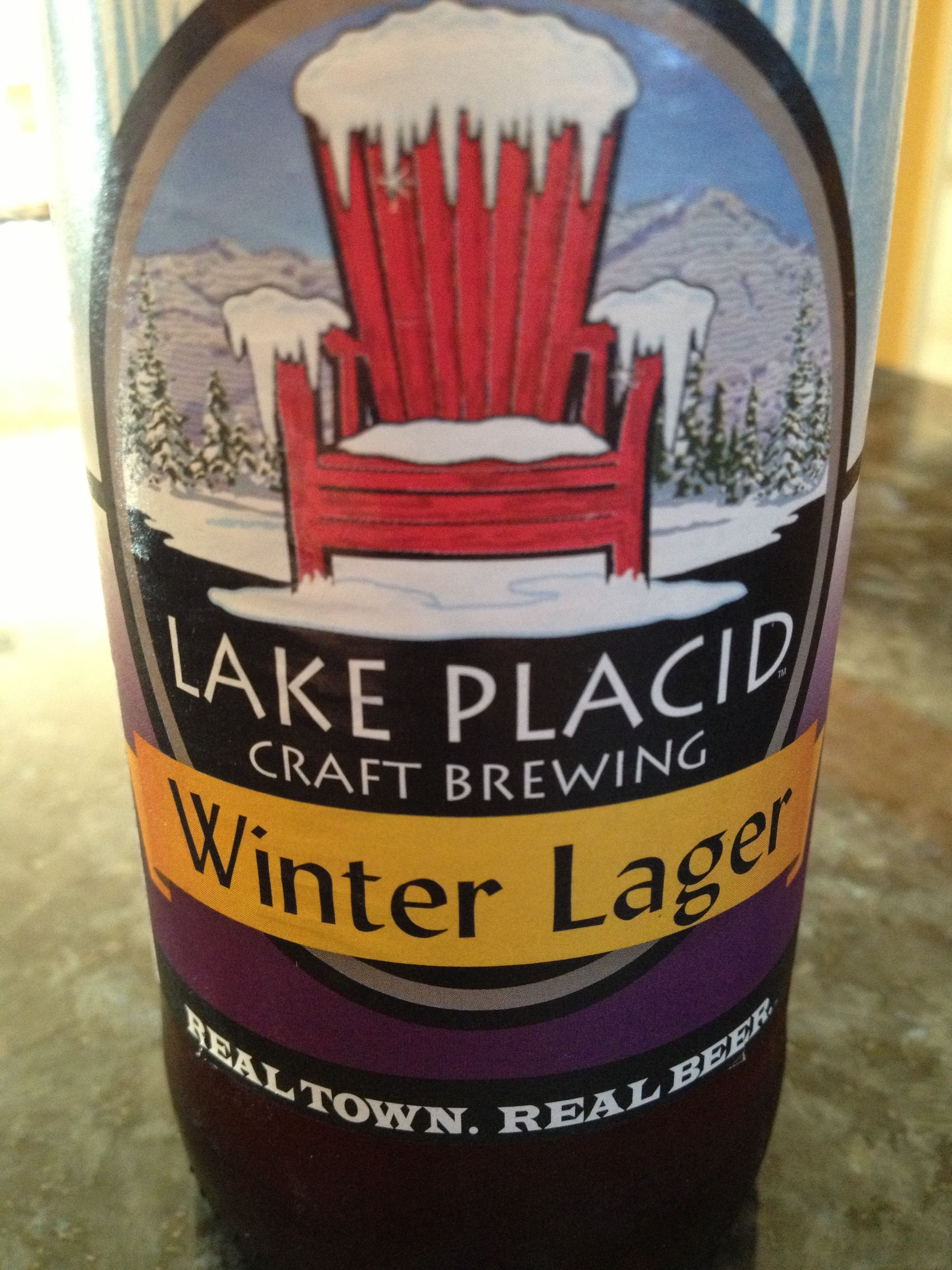 Lake Placid Craft Brewery Winter Lager Craft Brewing Craft Brewery Gold Peak Tea Bottle