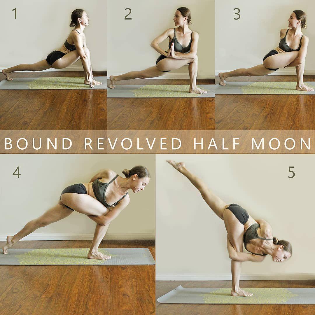 Half Moon Pose Easy