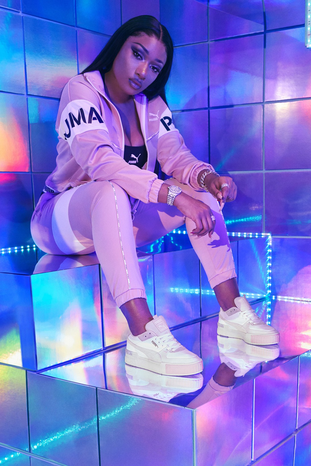 Megan Thee Stallion Just Scored Her First Puma Campaign In 2020 Black Girl Aesthetic Bad Girl Aesthetic Female Rappers