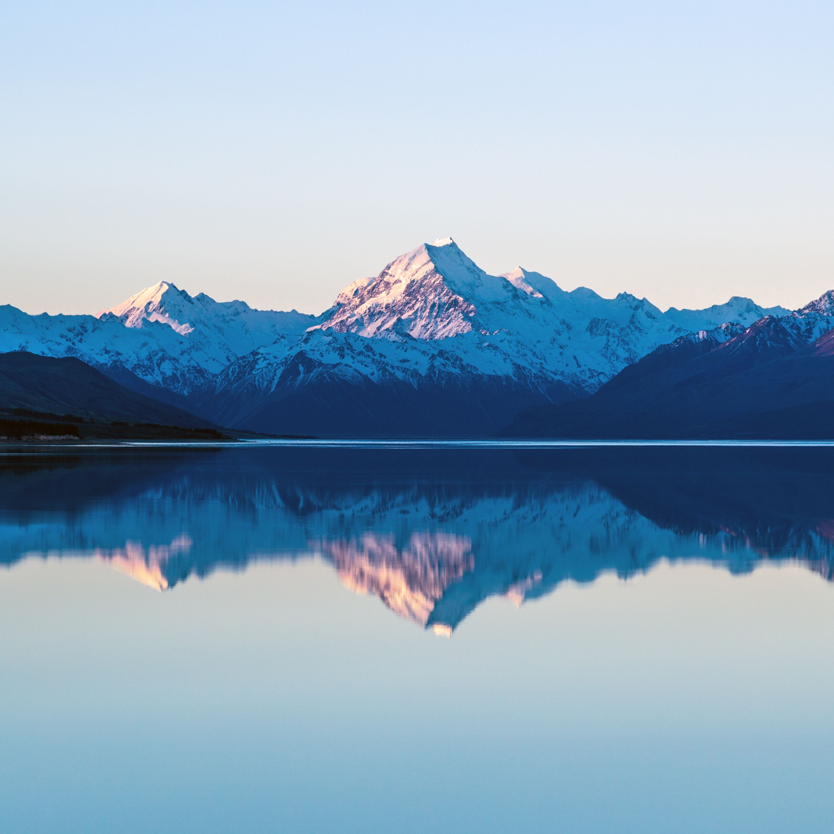 iPad Pro Reflection on the Lake Wallpaper Fondos de