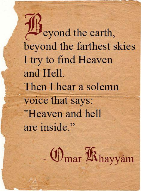 Omar Khayyam Pensamientos Escritores Literatura