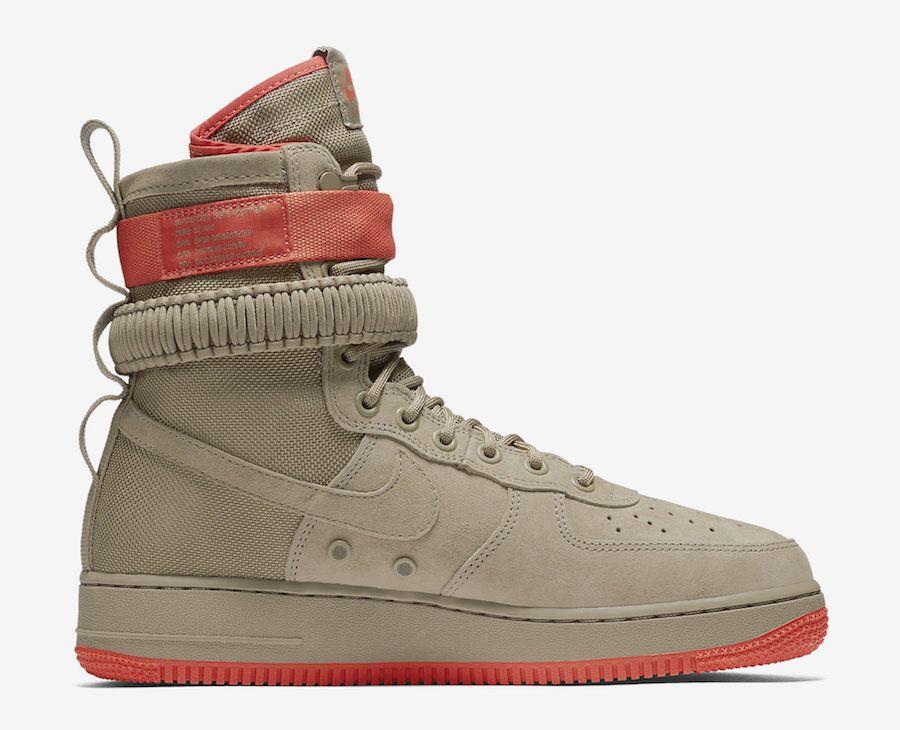 Nike Air Force 1 High Gym Red Gum Sneaker Bar Detroit