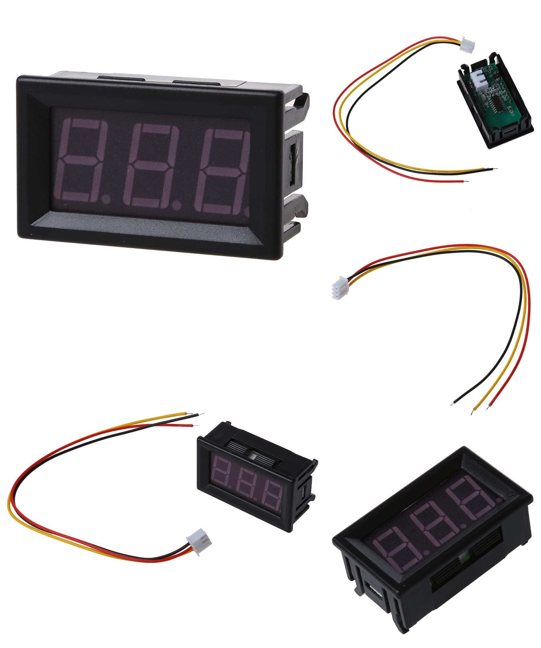 Visit To Buy Dc 0 999v 3 Wire Led Digital Display Panel Volt Meter Wiring Voltmeter In Car