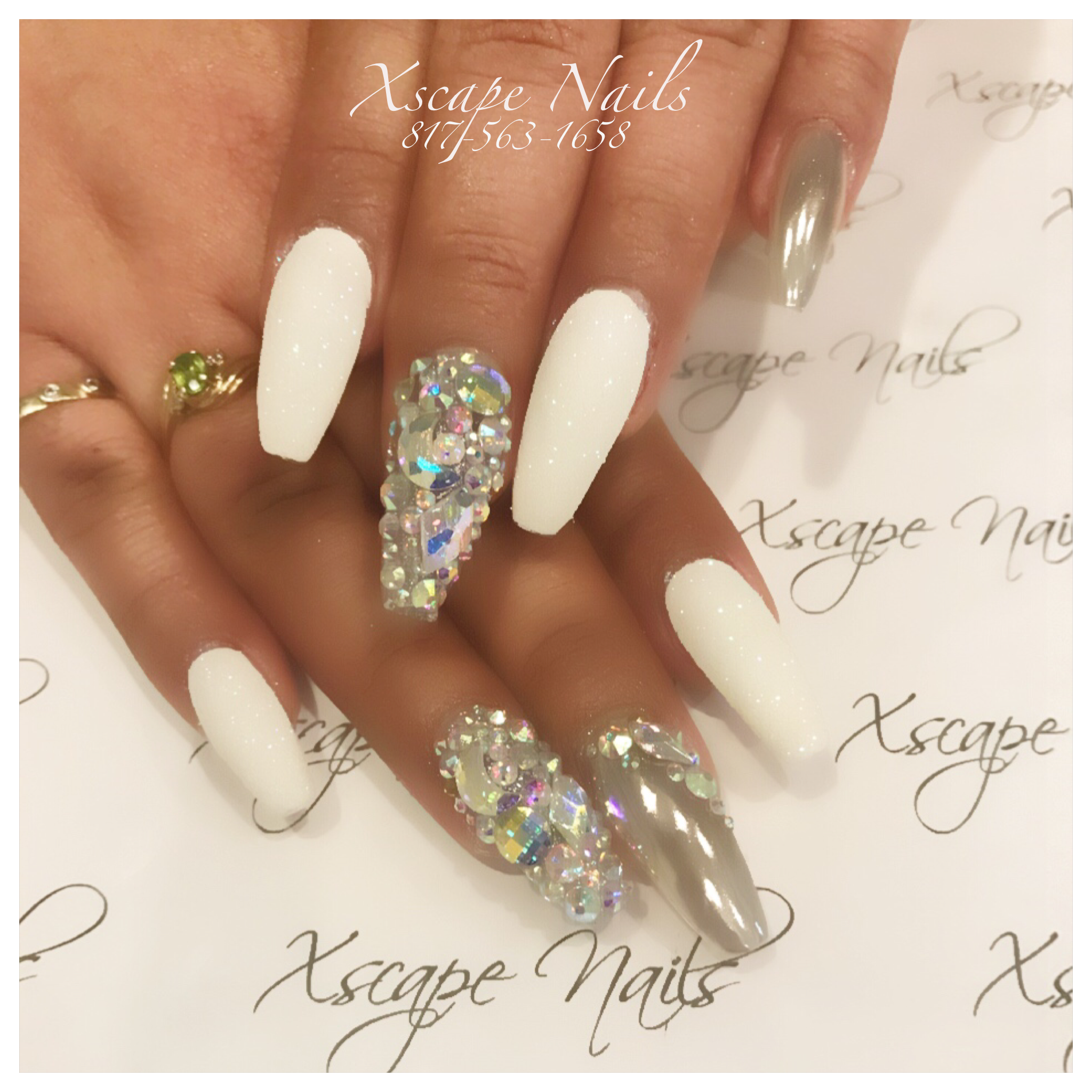 New years nails cute nails designs pinterest new years nails prinsesfo Images