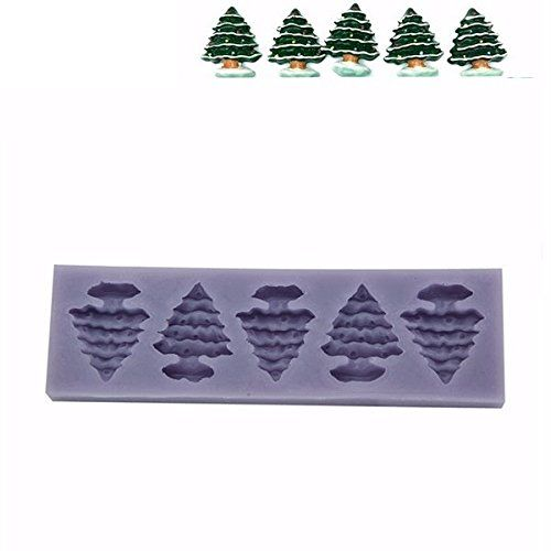 Dipshop Silicone Christmas Tree Mold Sugar Fondant Cake Mold Baking Tools Shopping You Can Get More Details By Clicking O Bakeware Set Cake Mold Baking Tools