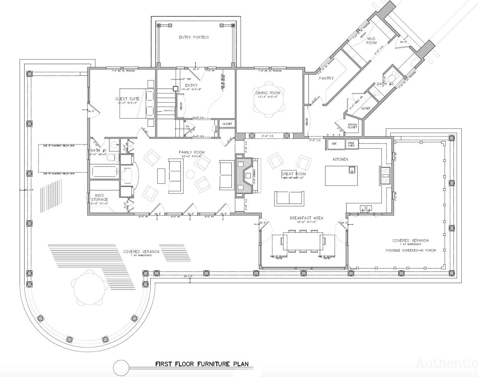 Country Estate House Plan With Equestrian Barn Authentic House Plans House Plans Country Estate Equestrian Barns