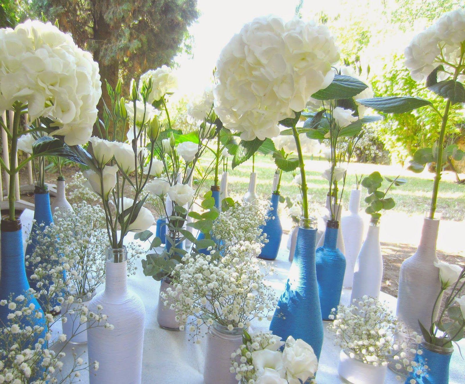 Centre de table corail - Organiser un mariage | Déco