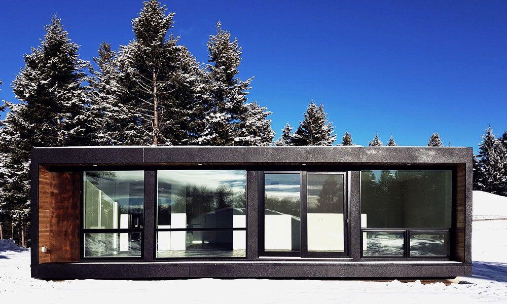 Offrez vous une maison contemporaine dans un container for Architecture contemporaine