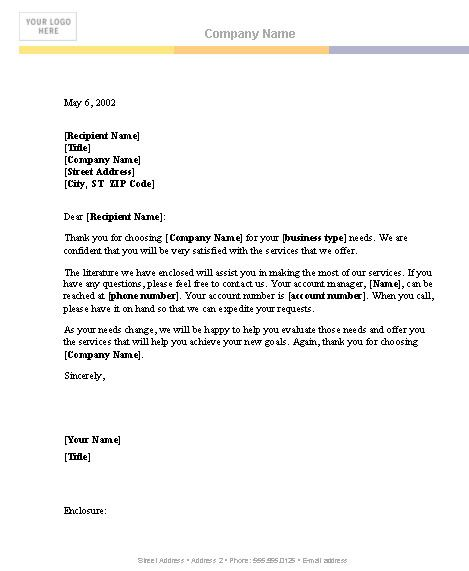 Business Letter Template  Pic Brothers  Business Letter Template